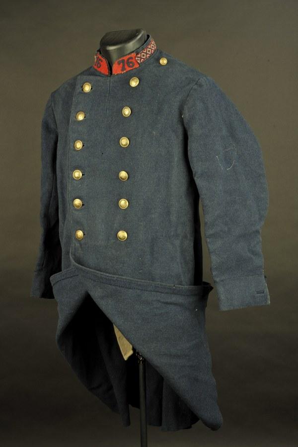 Manteau de la musique du 76ème régiment d'infanterie
