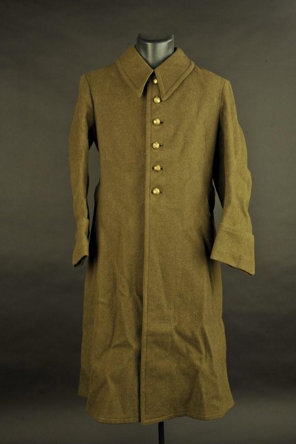 Manteau de l'artillerie