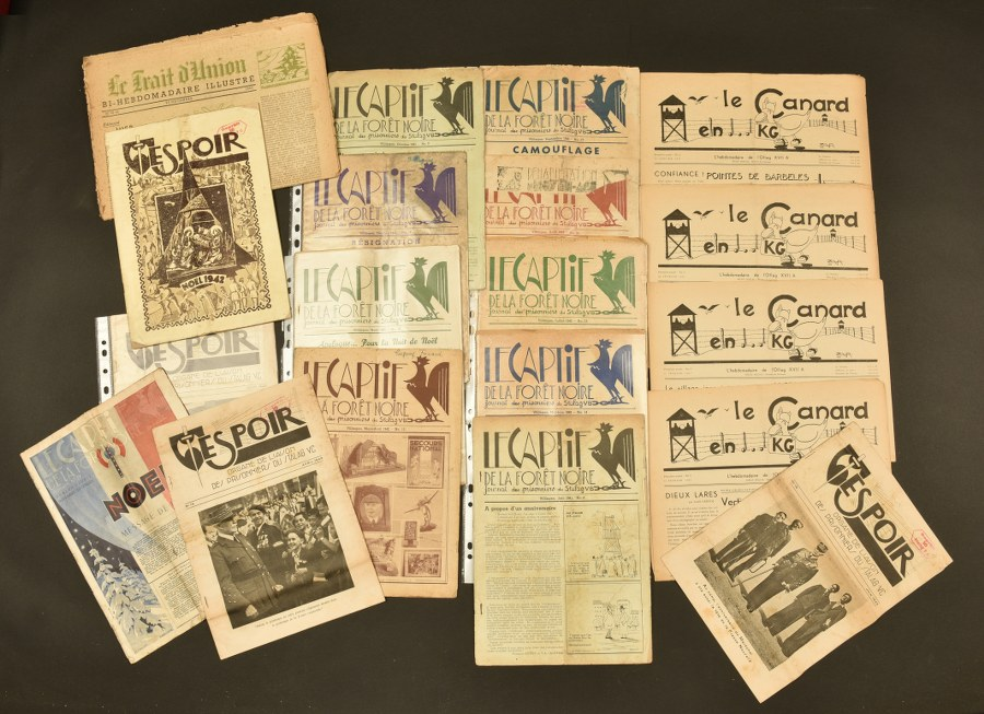 Ensemble de documents de Vichy