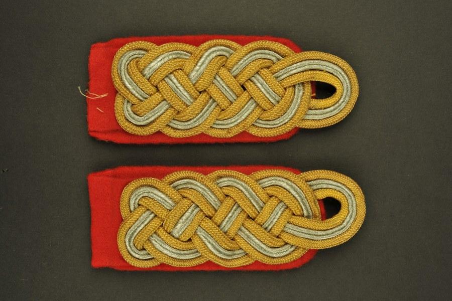 Pattes d'épaule de Generalmajor de la Heer