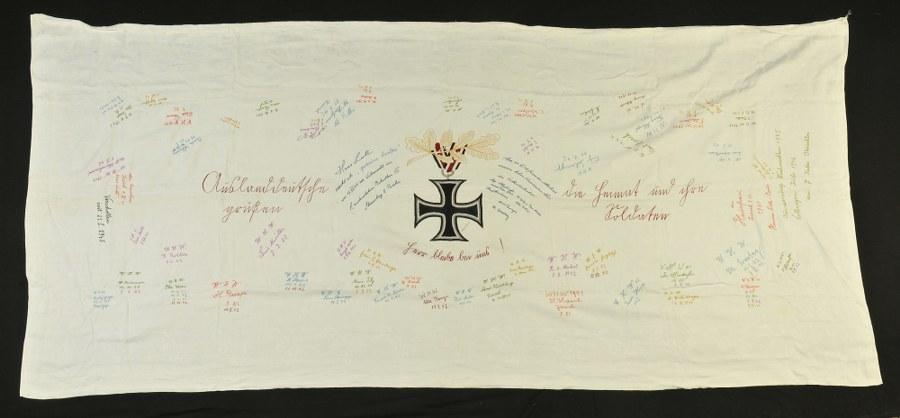 Nappe offerte pour l'obtention d'une croix de fer de seconde classe