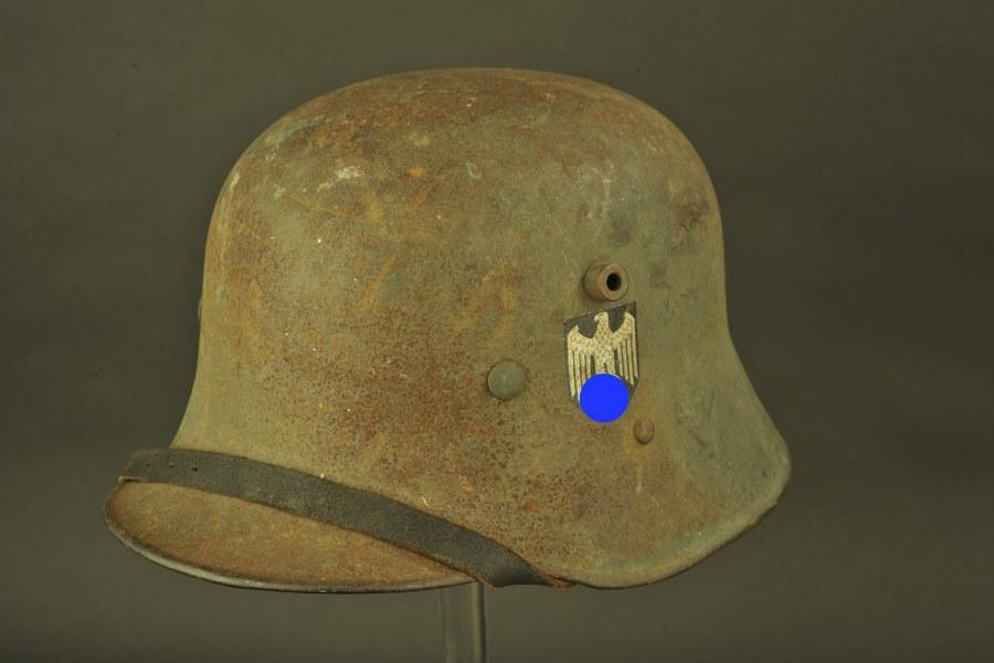 Casque allemand WWI reconditionné