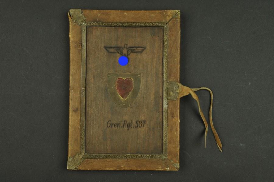 1395 Porte carte du Generalleutnant Georg Postel