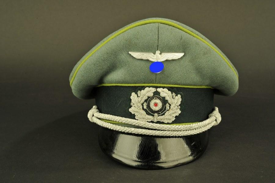 Casquette d'officier des Panzer Grenadier