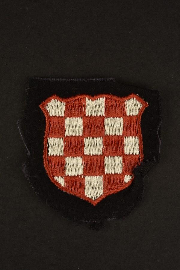 Insigne d'un volontaire croate dans la Waffen SS