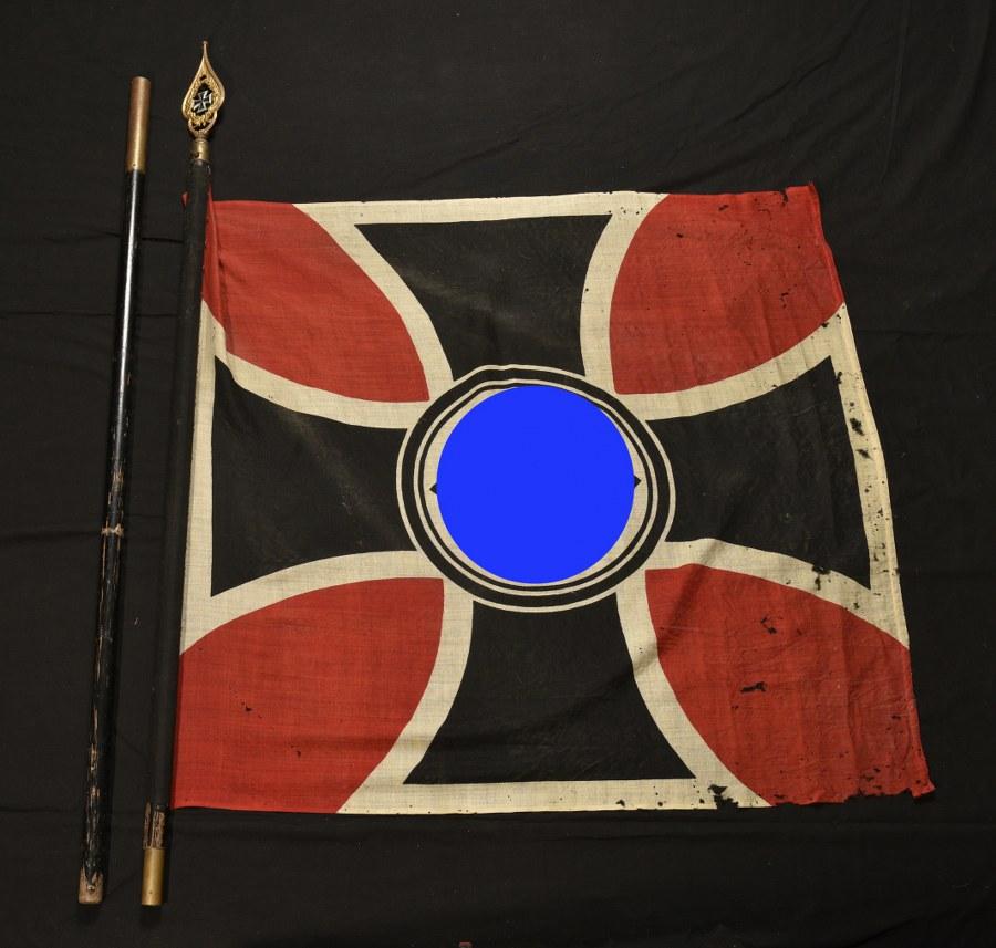 Drapeau des anciens combattants provenant de Frais près de Belfort