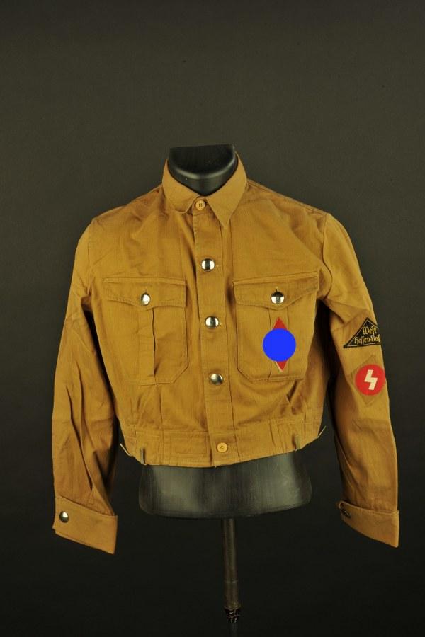 Blouson de la SA remonté Hitlerjugend