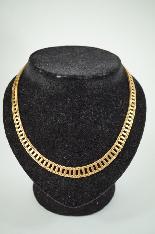 Collier semi-rigide en or jaune