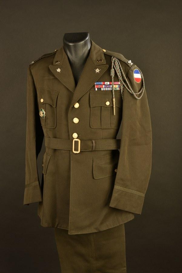 Uniforme de Colonel de l'Etat Major de l'Army Forces Command