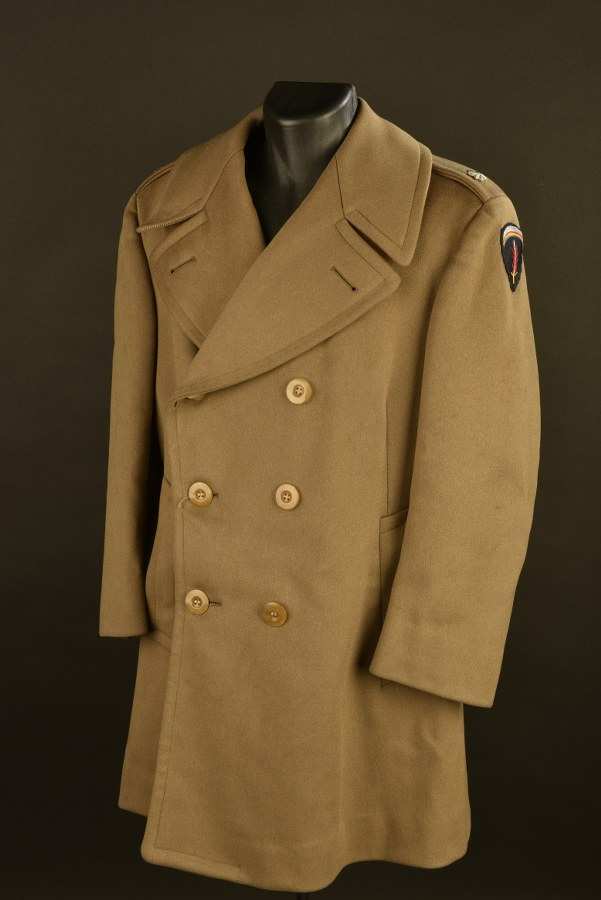 Manteau 3/4 de Lieutenant Colonel du Shaef