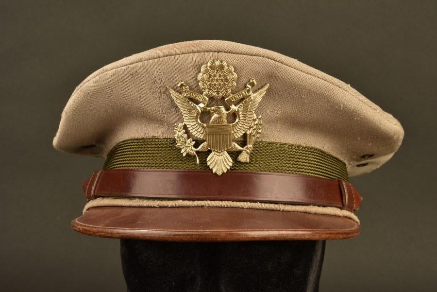 Rare modèle de casquette d'officier Pink US