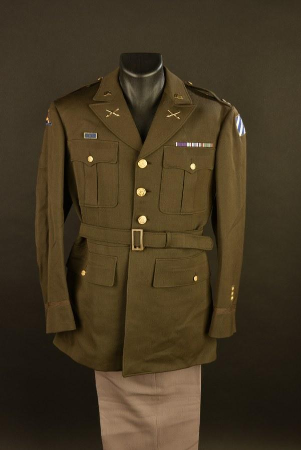 Uniforme du Capitaine Leber de la 3ème DI US