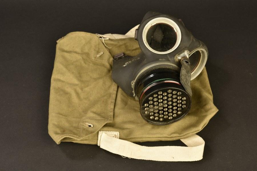 Masque anti-gaz britannique