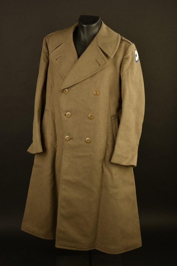 Manteau d'officier du Sixth Service Command