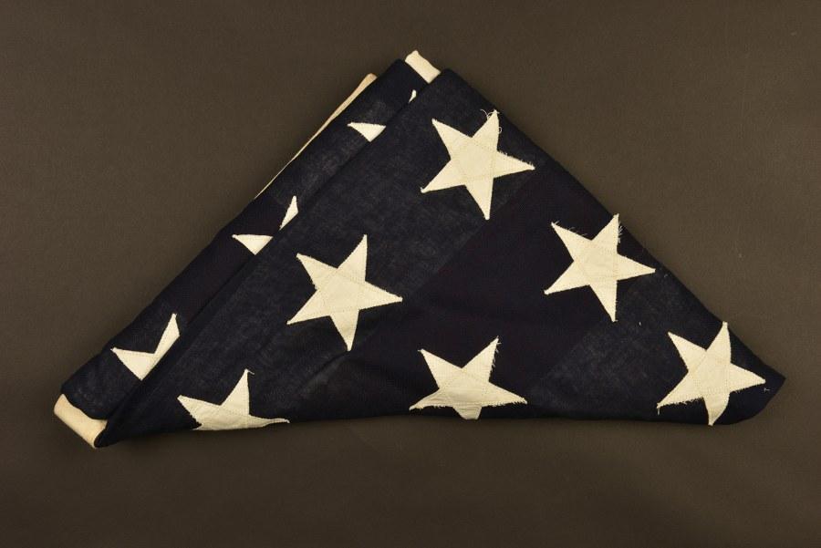 Drapeau US 48 étoiles