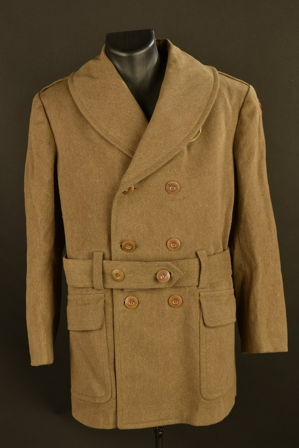 Manteau 3/4 d'officier de la 86ème DI US