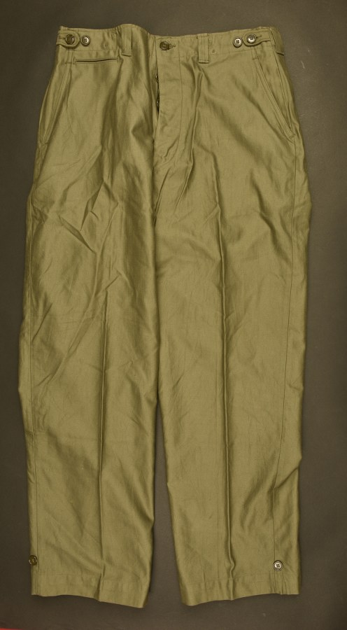Trousers Fiel cotton OD