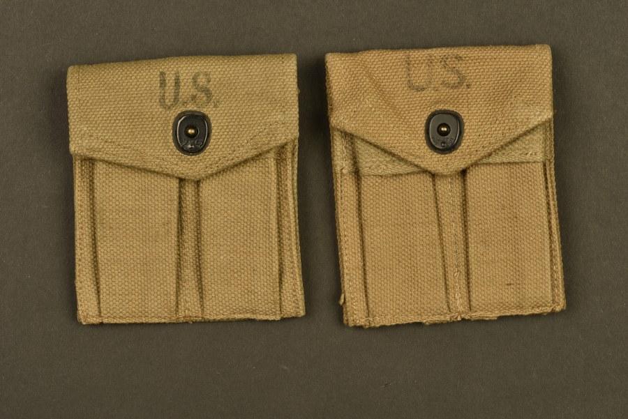 Pochettes pour chargeurs de Carabine US M1 British Made