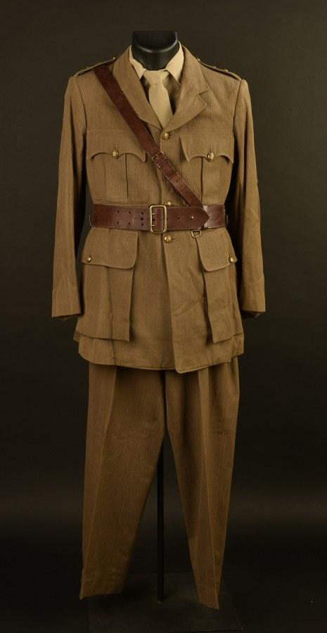 Uniforme d'officier de l'artillerie britannique