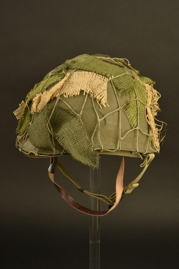 Casque USM1 avec filet de camouflage