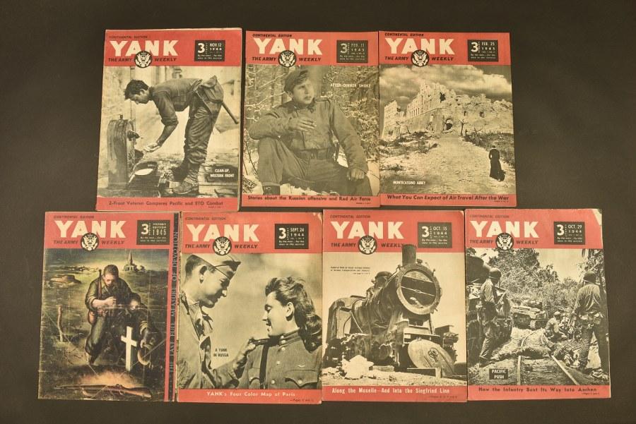 Ensemble de journaux Yanks Continental Edition