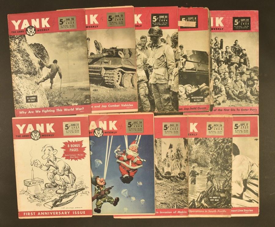 Ensemble de journaux Yanks Edition USA
