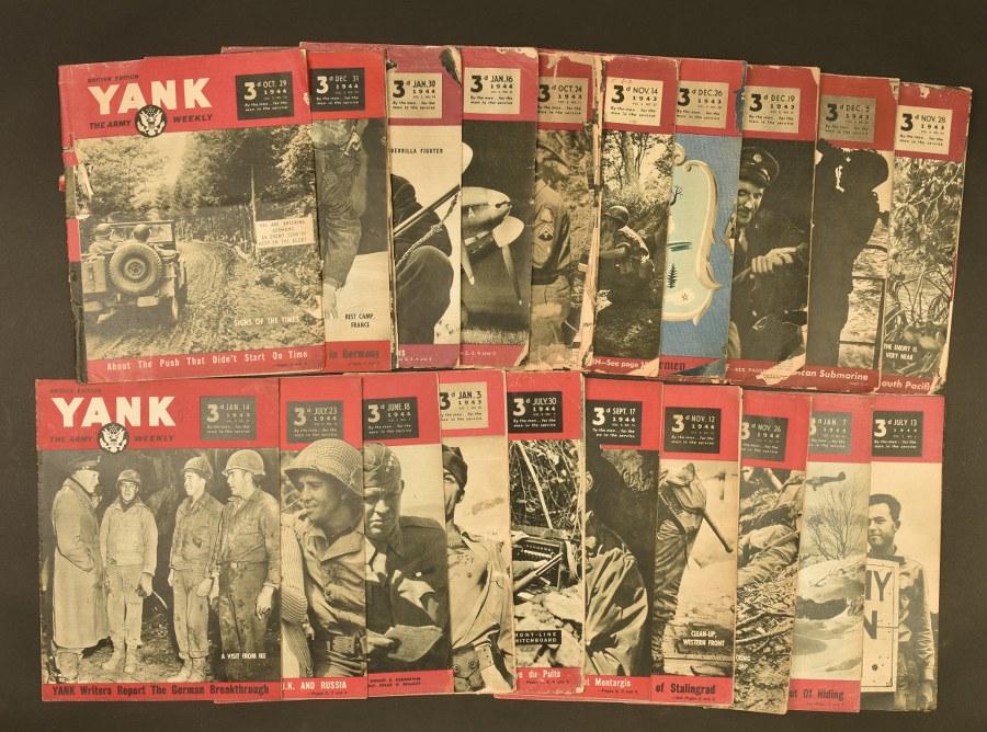 Ensemble de journaux Yanks Edition britannique