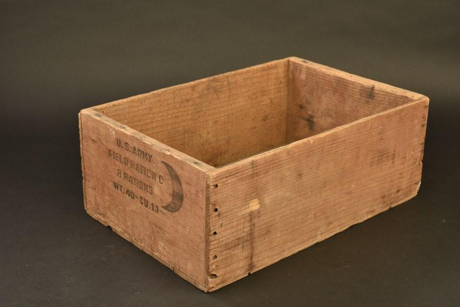 Caisse de ration en bois