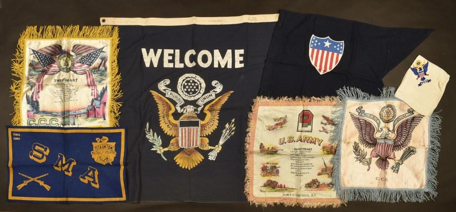 Ensemble de drapeaux Welcom