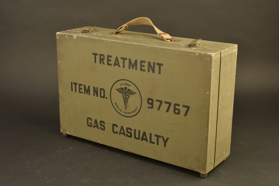 Valise Treatment Gas Casualty