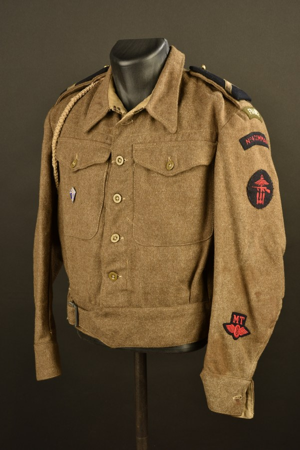 Reproduction d'un Battle Dress du Commando N°4