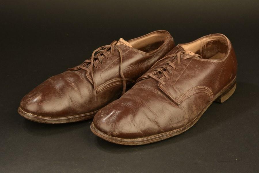 Chaussures basses d'officier