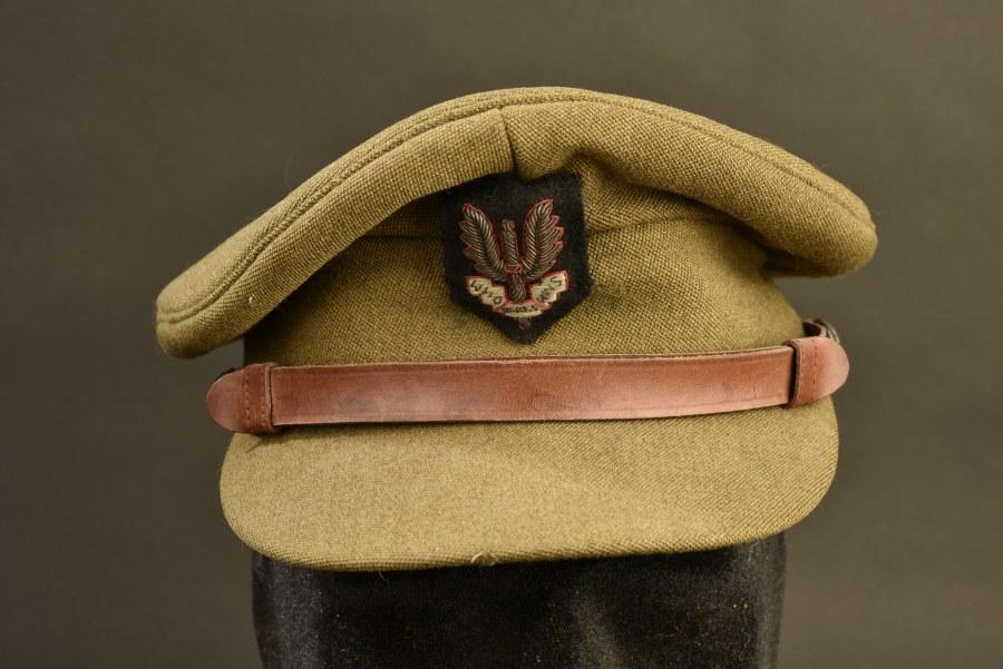 Casquette d'officier des forces spéciales britannique