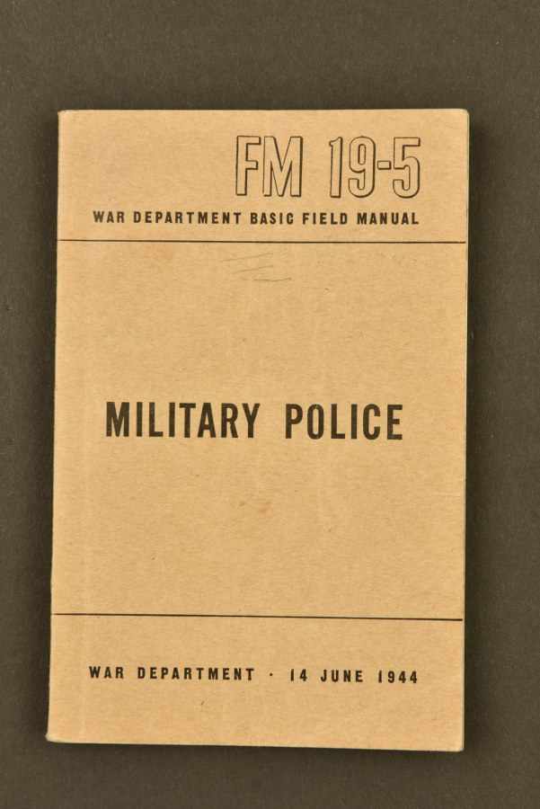 Manuel Technique de la Military Police