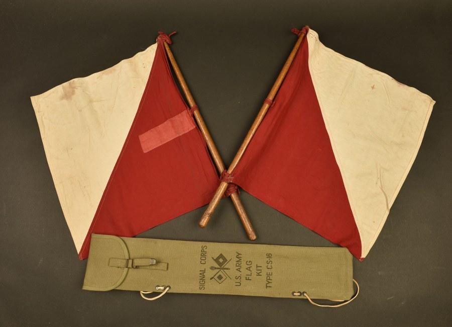 Drapeaux de signalisation du Signal Corps