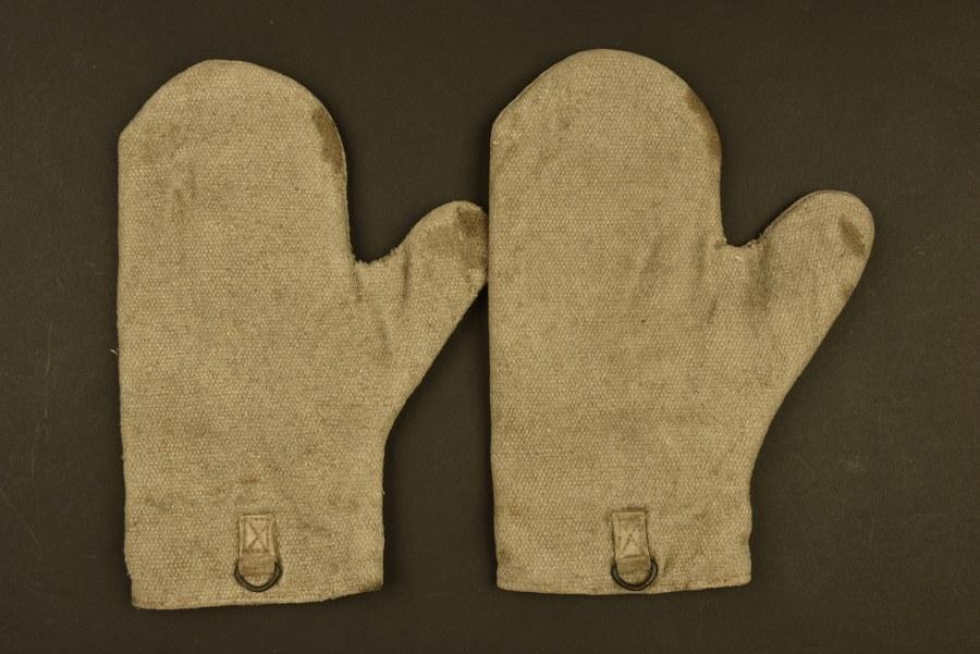 Paire de gants de rechange pour canons de mitrailleuse