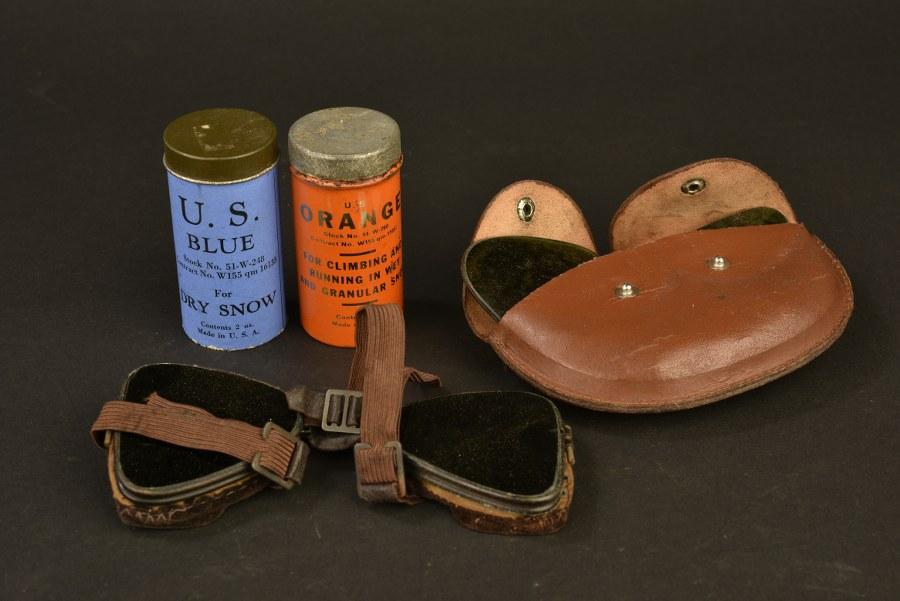 Ensemble d'accessoires des troupes de montagne US