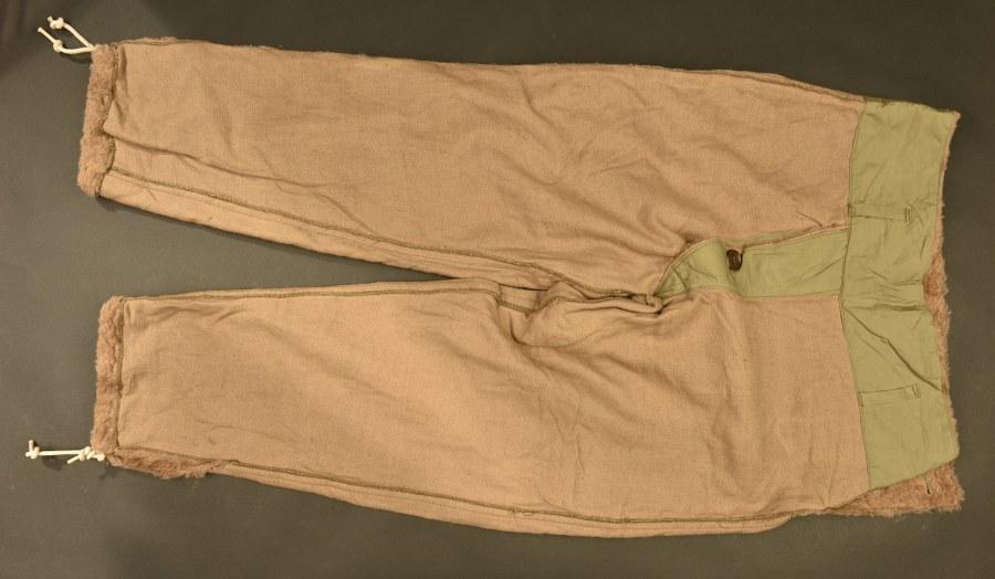Doublure hivernale de pantalon US