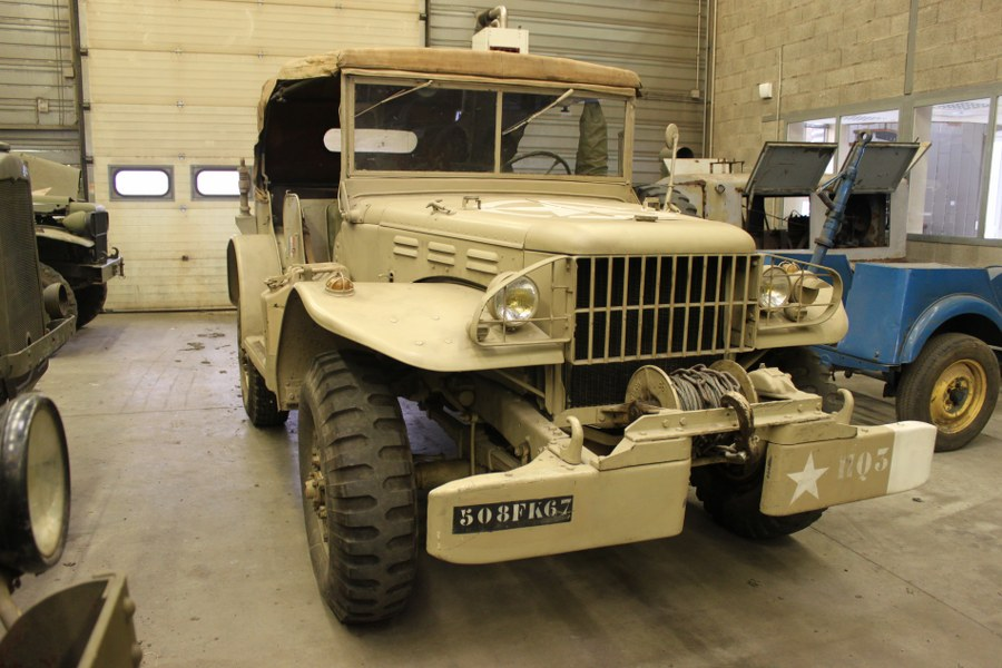 Dodge WC 57- Complet tournant