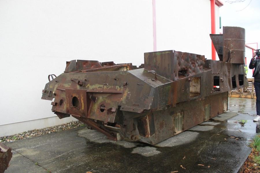 Coque nue de char Priest M7 B2