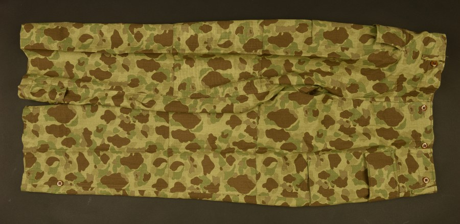 Reproduction de pantalon camouflé Army
