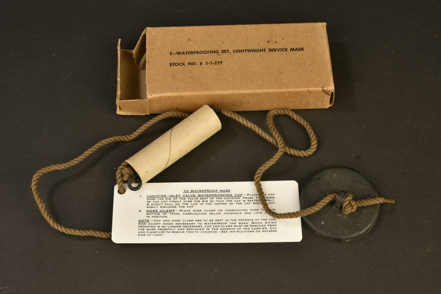 Kit d'étanchéité du masque anti-gaz US