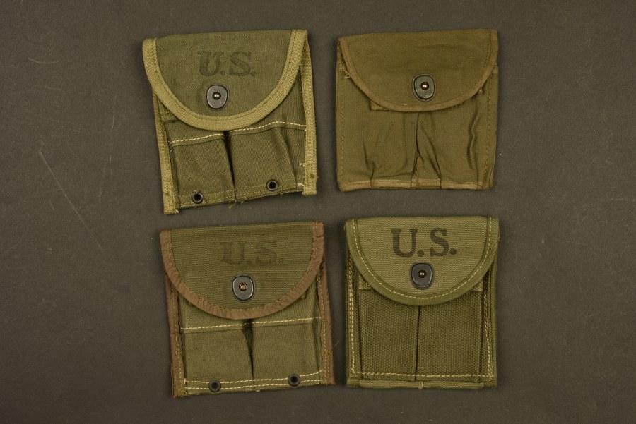 Pochettes pour chargeurs de Carabine US M1