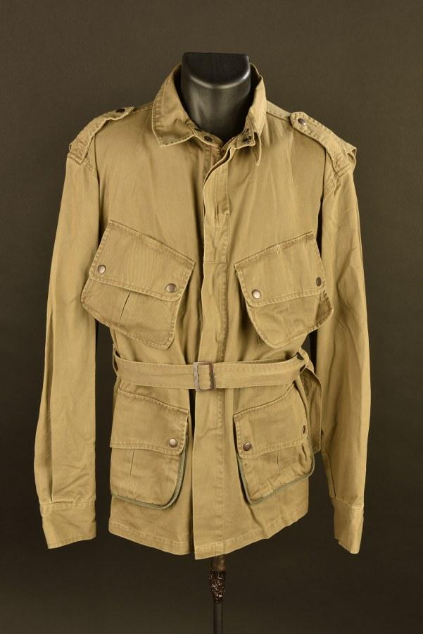 Reproduction d'une veste à renfort de parachutiste US