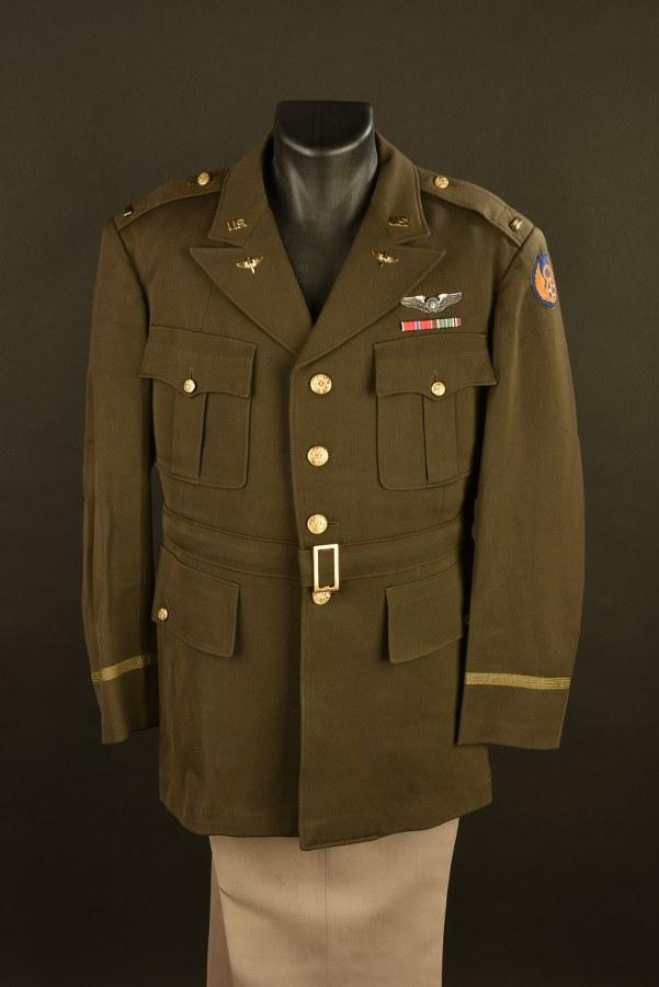 Uniforme du Lieutenant Chester Ricker de la 8ème Air Force