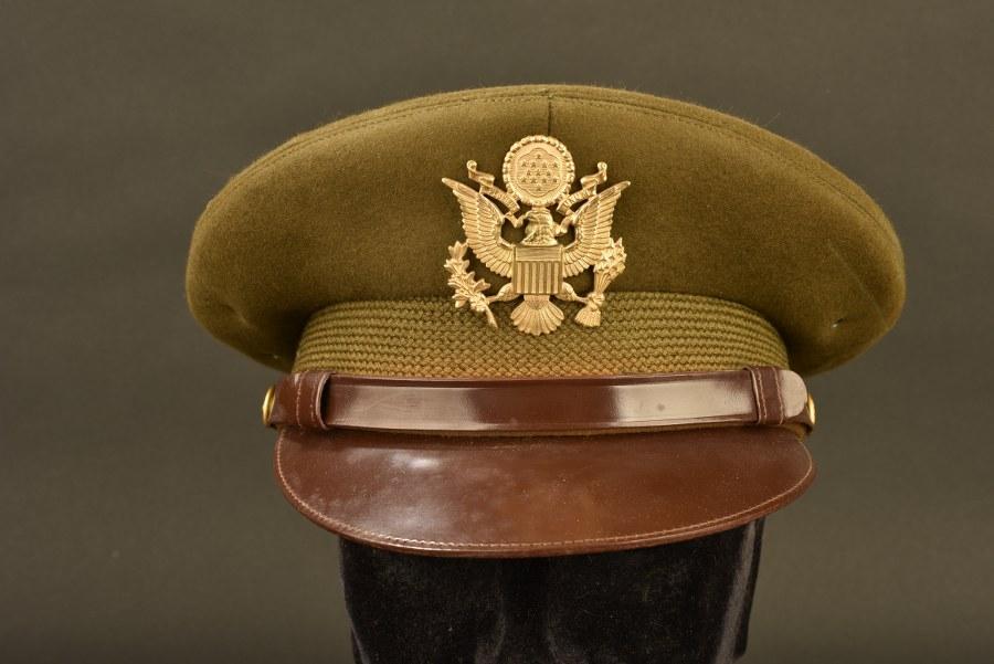 Casquette Crusher d'officier US