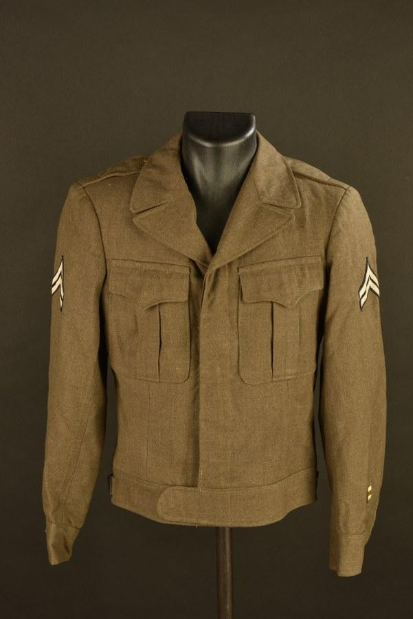 Blouson Ike d'un Caporal de l'Army Air Force