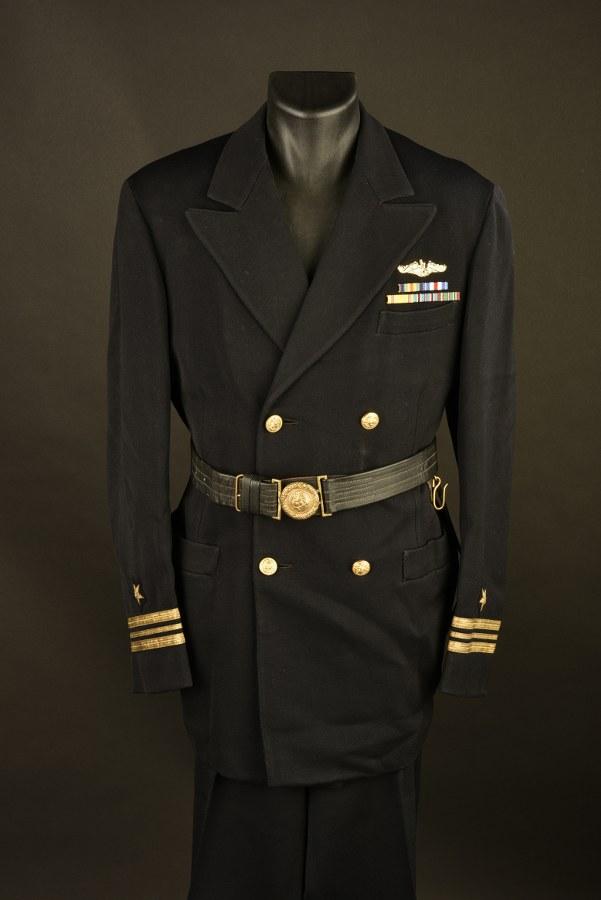 Uniforme de Lieutenant Commander des sous marinier de l'US Navy