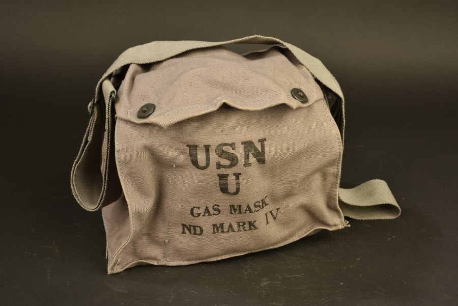 Masque anti-gaz USN Mark IV