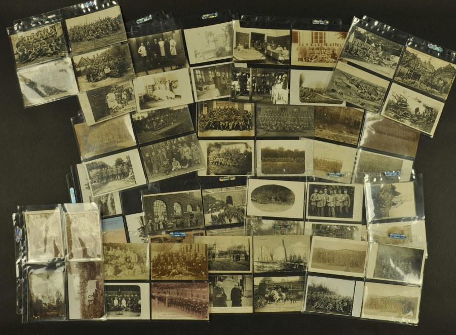 Cartes postales des troupes sanitaires allemande WWI